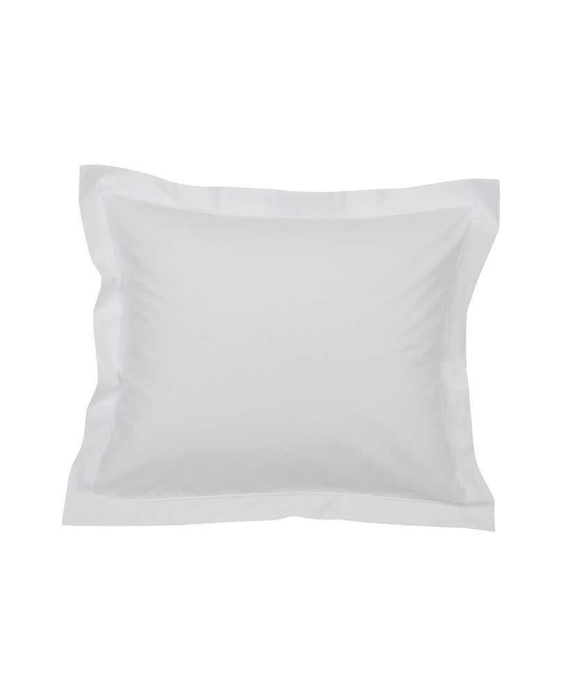 Bed And Bath Bettwäsche Hotel Percale White White Pillowcase