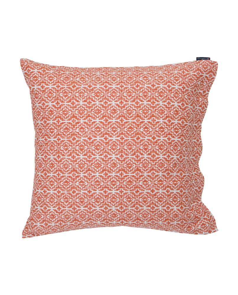 Boho Bettwäsche Apricot Printed Sateen Pillowcase