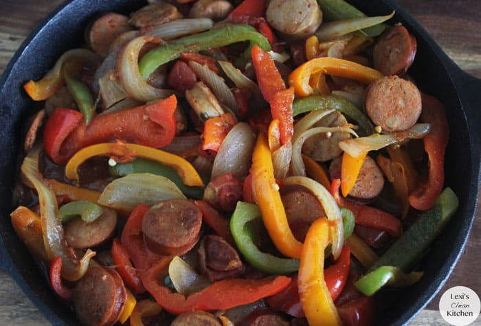 Sausage, Peppers, & Onions - Lexi'S Clean Kitchen