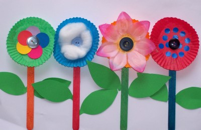 Kids Flower Crafts