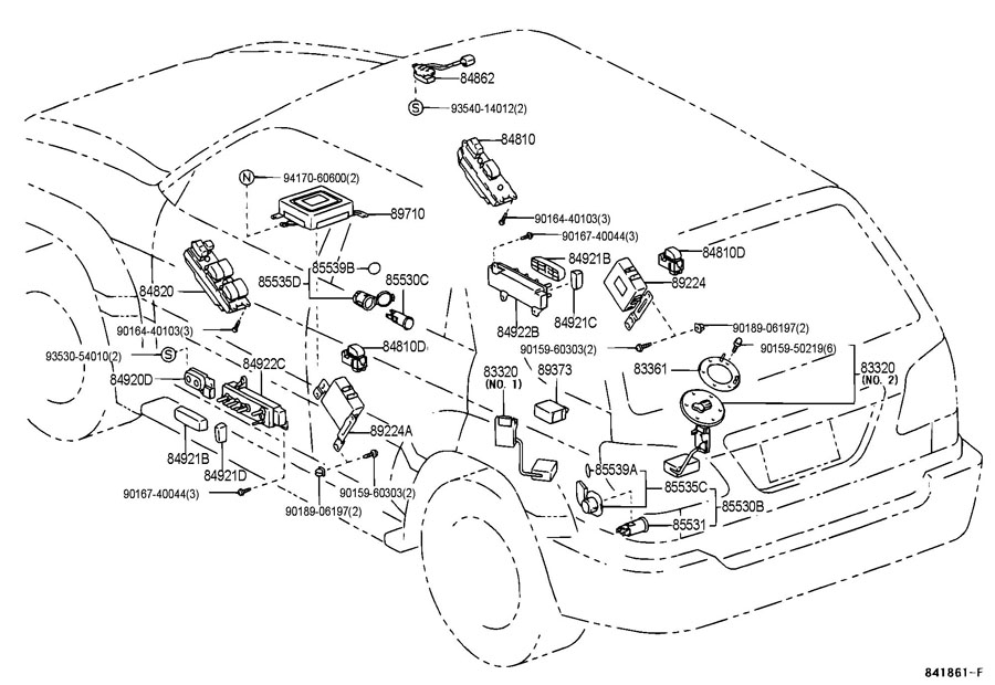 headlight wiring diagram 2003 lexus lx470