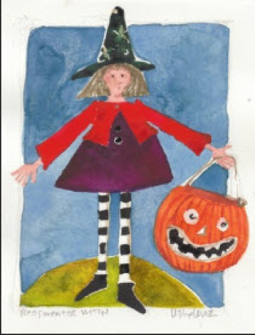 Red Sweater Witch