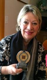 Diane Chikos, fiber artist