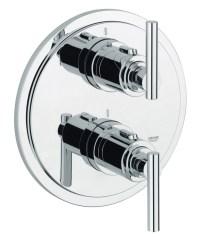 Grohe Spa Atrio Jota Chrome Thermostatic Shower Mixer