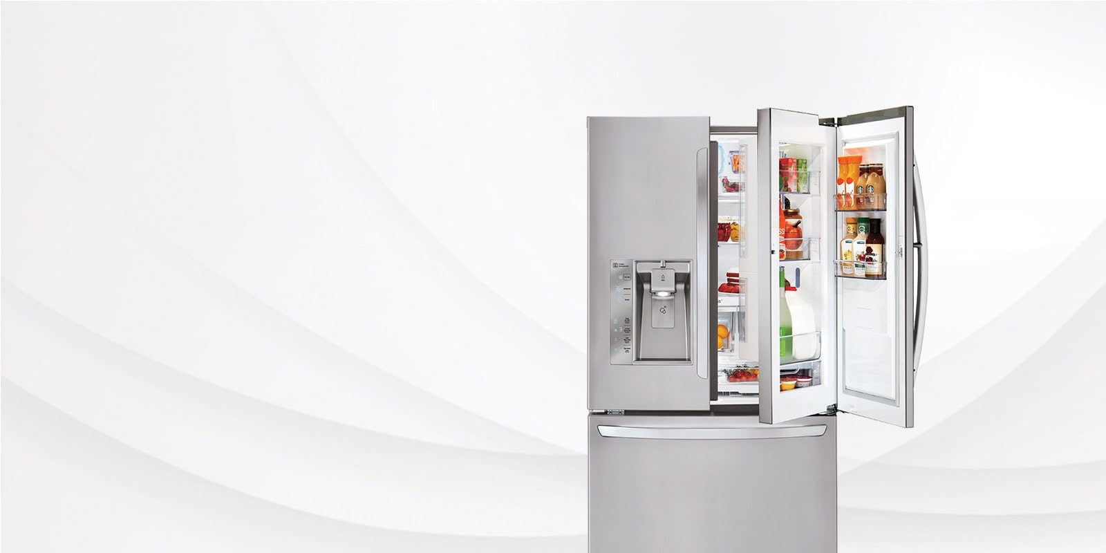 Fridges Canada Lg Smart Cooling French Door Counter Depth Fridges Lg Canada