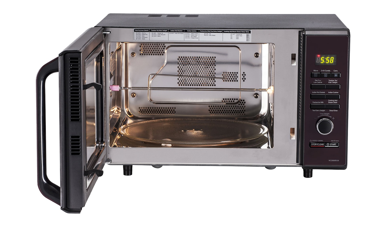 Gambar Oven Gas Lg Mc2886brum Convection Microwave Oven Lg India