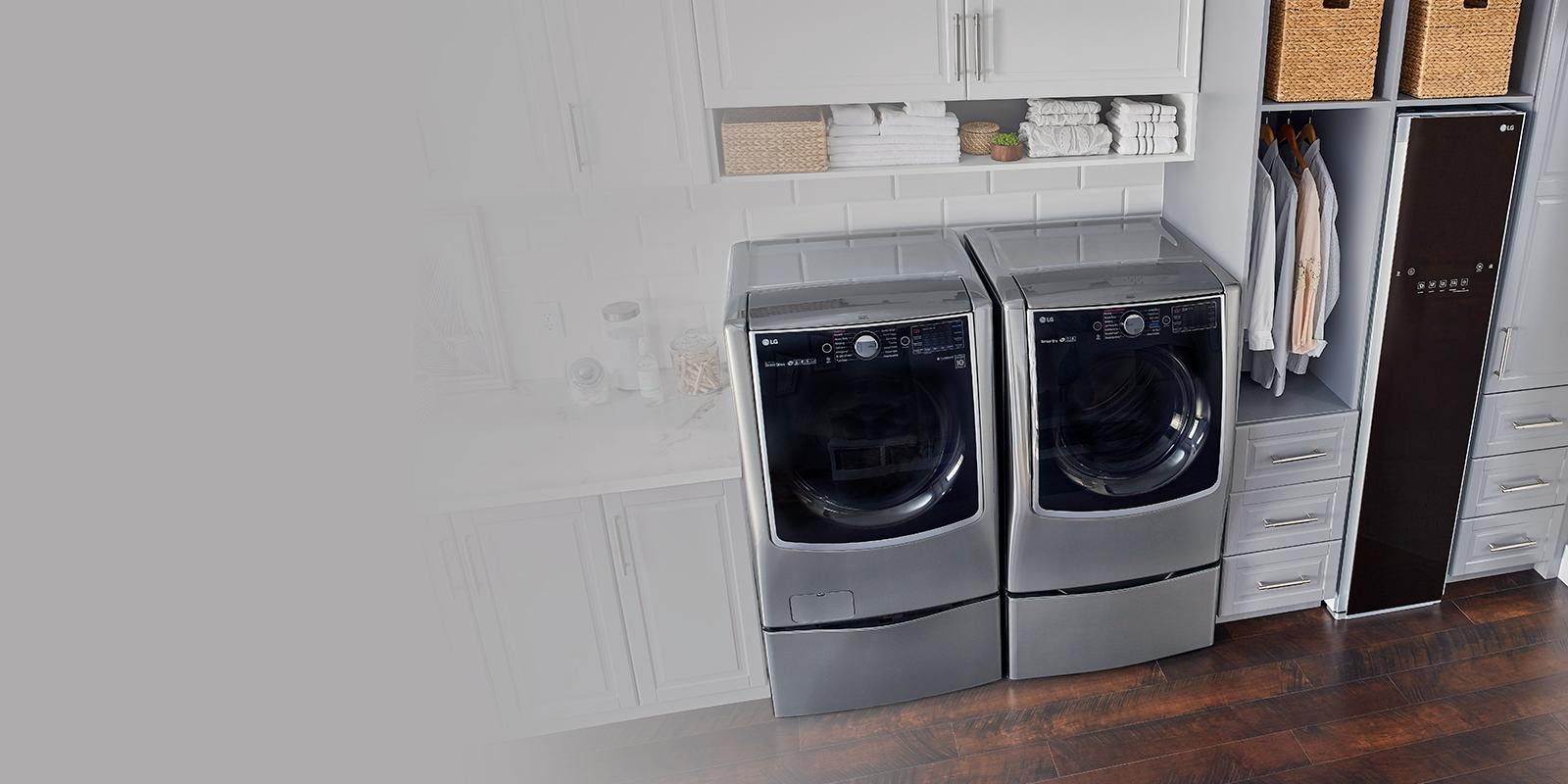 Countertop Glass Washer Lg Washer And Dryer Sets Laundry Appliances Lg Usa