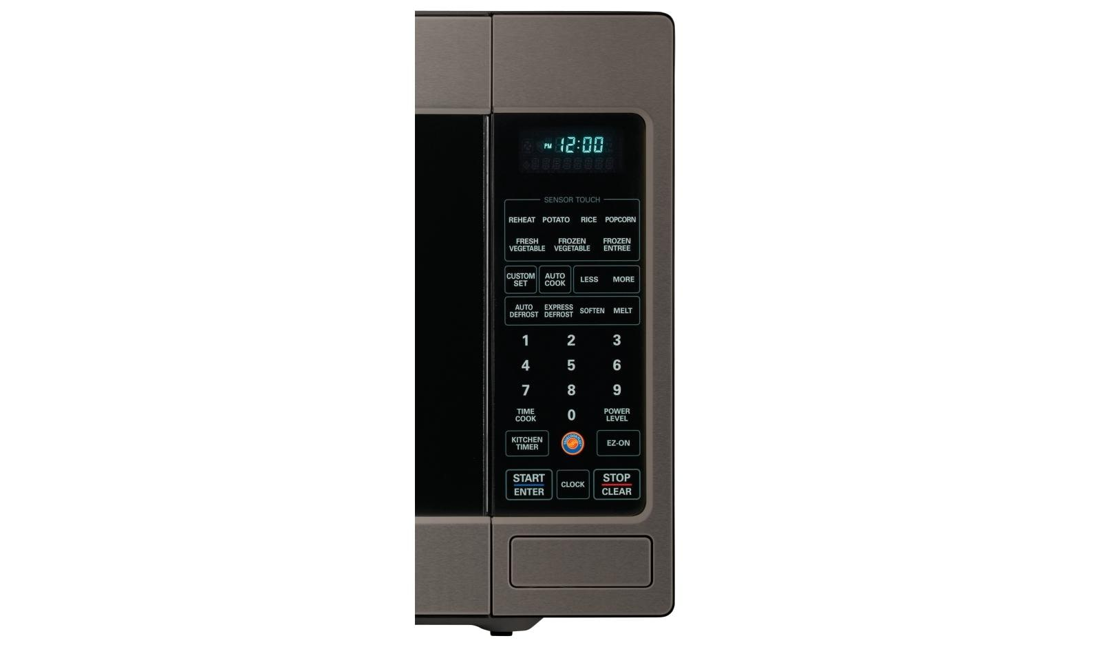 Lowes Countertop Microwaves Lg Lcrt2010bd Countertop Microwave Oven With Easyclean Lg Usa