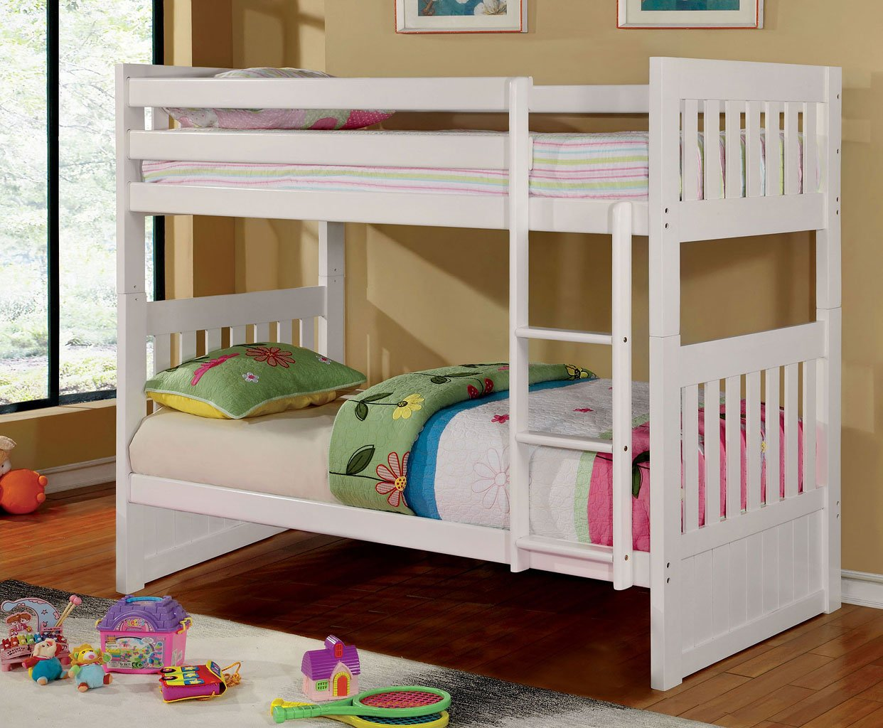 Bedroom Furniture Canberra Canberra Twin Twin Bunk Bed White Kids Loft And Bunk
