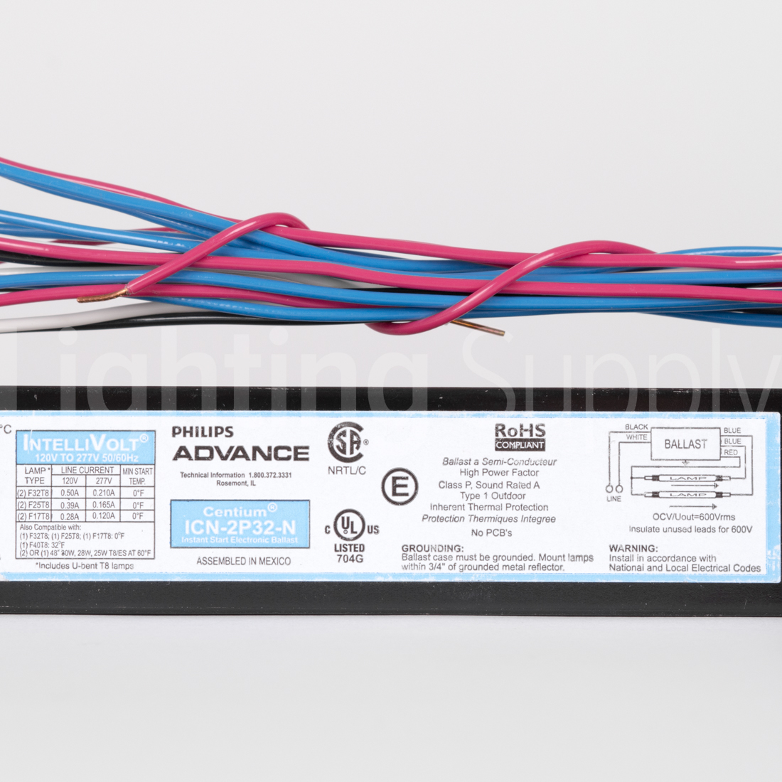 Advance T8 Ballast Wiring Diagram - Auto Electrical Wiring Diagram on