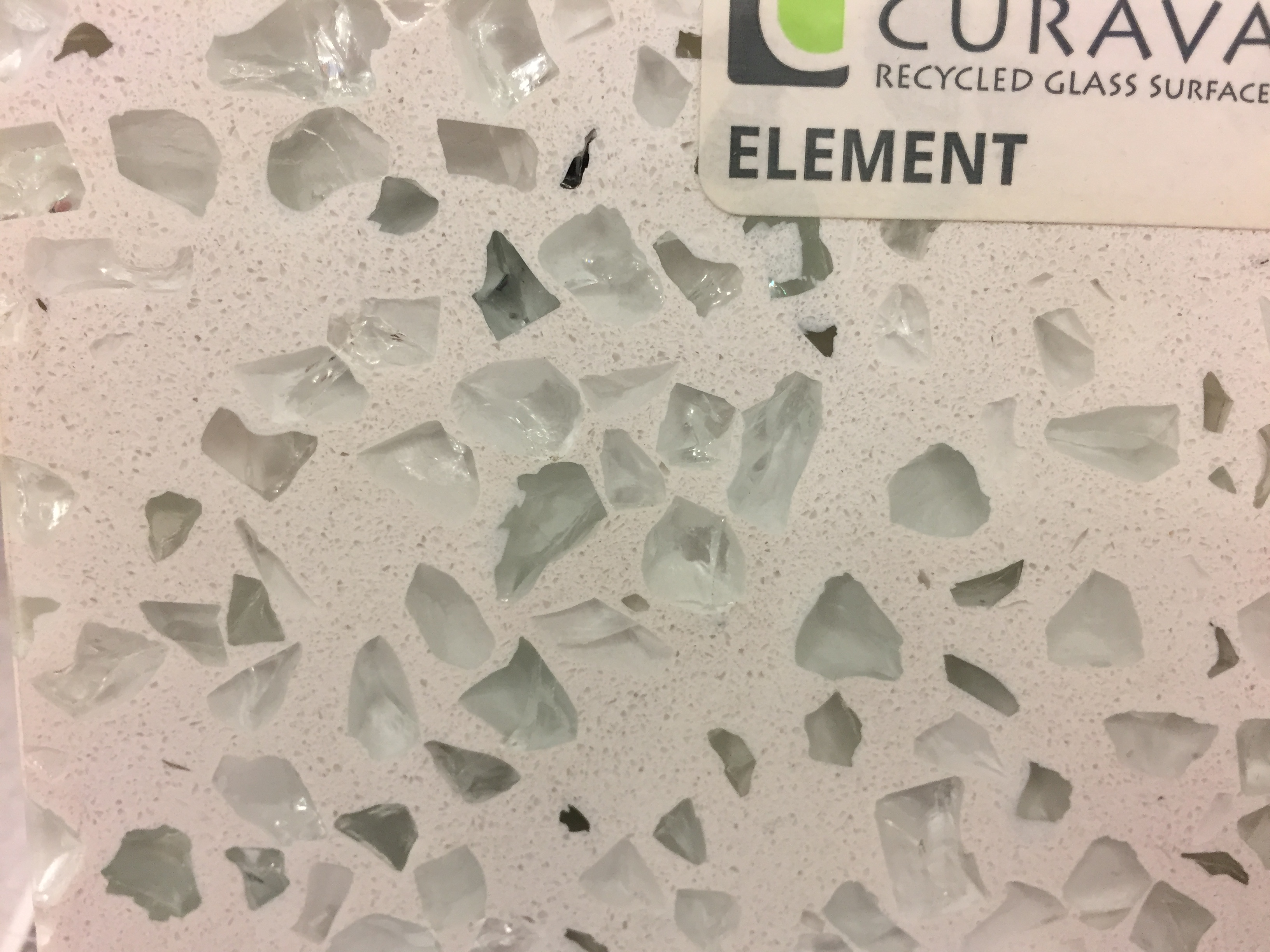 Think Glass Countertops New Trend In Real Estate Recycled Glass Countertop Laura Grace
