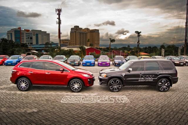 Mazda CX7 Tribute Custom Pinoy Rides Mazdatach