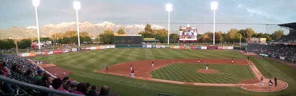 Salt Lake City Baseball Game