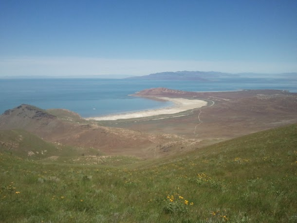 View of Beach from Antelope Island Peak.58.jpg