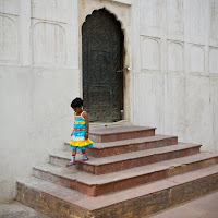 little girl at the Red Fort | Canon T2i