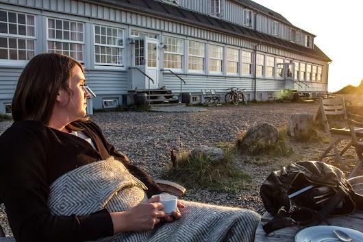 Min kone på Svinkøv Badehotel  - Mikkel Bækgaards Madblog