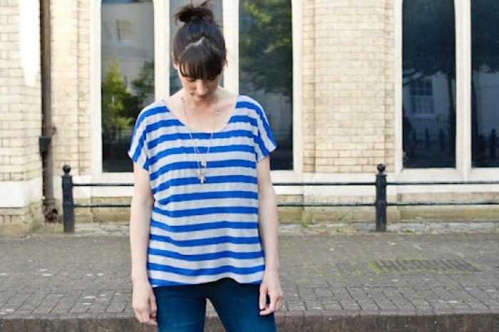 Blue Striped Piko 13