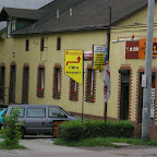Everything in Upper Silesia seems rather eclectic - traditional buildings, even if restored mix with ugly advertisments.