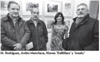"""M. Rodriguez, Antón Menchaca, Nieves """"DeBilbao"""" y """"Joselu"""""""
