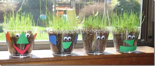 Preschool Alphabet: Growing Grass (Or Seeds)
