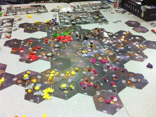 Eclipse - turn 4 before combat