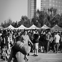 BW shot with Fuji X10 at Ostfest 2012