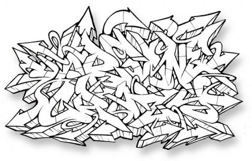 Imagenes De Letras De Graffitis En Bomba Abecedario Auto