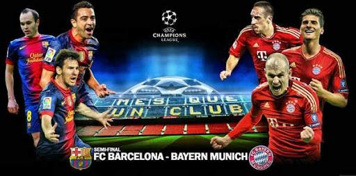 Barcelona Vs Bayern Munchen B D