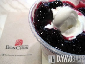 Blueberry Torte Ko-Yo (Korean Yogurt) at BonChon Chicken