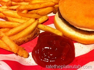 TGI Fridays Kids Hamburger
