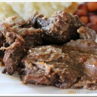 Eat In Recipe:  Slow Cooker Sweet & Spicy Pot Roast