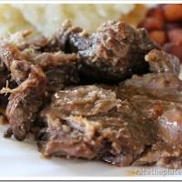 Eat In Recipe:  Slow Cooker Sweet & Spicy Pot Roast