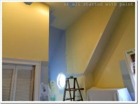 How To Paint A Vaulted Ceiling Without Scaffolding