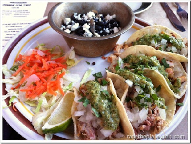 Old Towne Grill Center Street Tacos