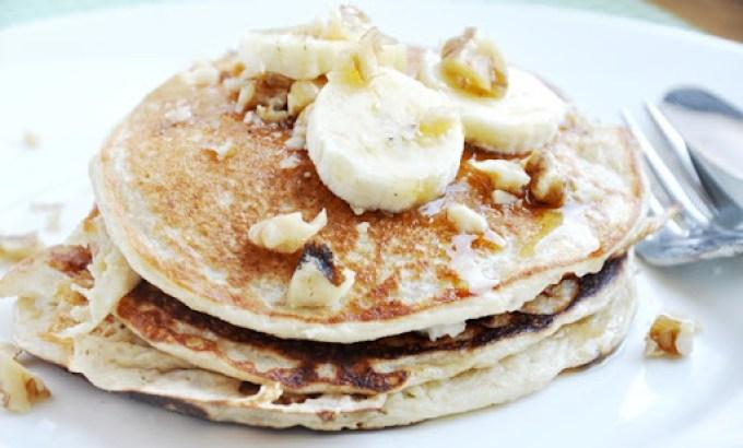 banana bread protein pancakes 055