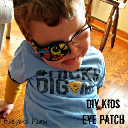 DIY Eye Patch 7