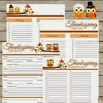Krafty Cards Etc. Thanksgiving Planner