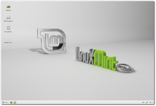 Linux Mint 13 Xfce RC