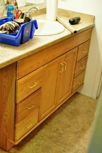 How To Stain Kitchen Cabinets Espresso Staining Oak Cabinets An Espresso Color {diy Tutorial