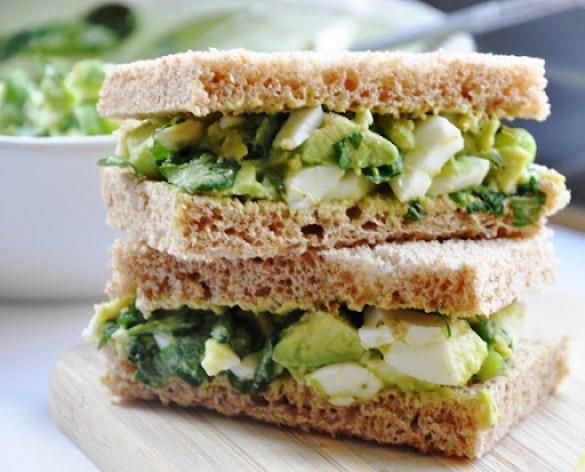 avocado egg salad sandwich 072
