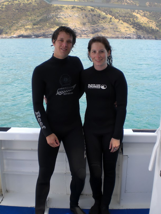 Sam and Renee Suited Up