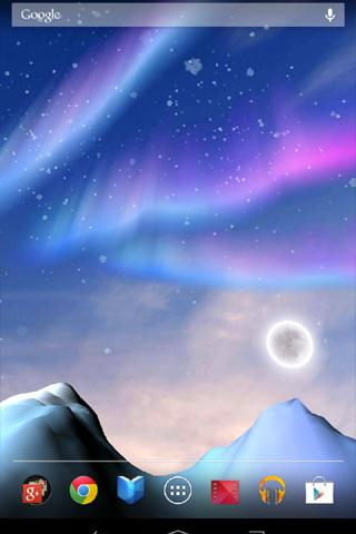 Aurora 3D Live Wallpaper 1.0.3 [APK] [Android] - Descargar Gratis
