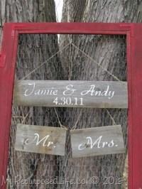 Repurposed Vintage Screen Door - My Repurposed Life