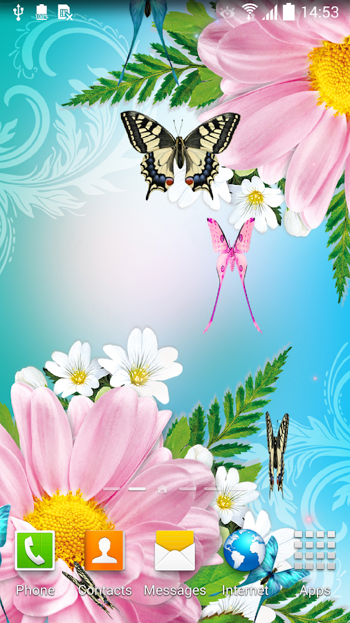 3d Parallax Weather Live Wallpaper Butterflies Live Wallpaper Android Apps On Google Play