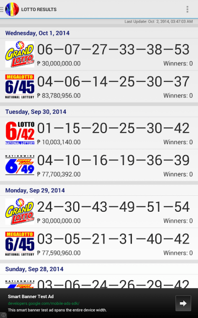 PiLotto - Philippine Lotto - Android Apps on Google Play