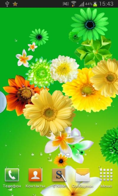 Flowers live wallpaper - Android Apps on Google Play