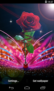 3d Parallax Weather Live Wallpaper For Android Os Rose Live Wallpaper Apps On Google Play