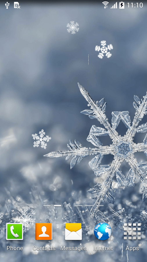 Live Snow Falling Wallpaper For Desktop Winter Wallpaper Android Apps On Google Play