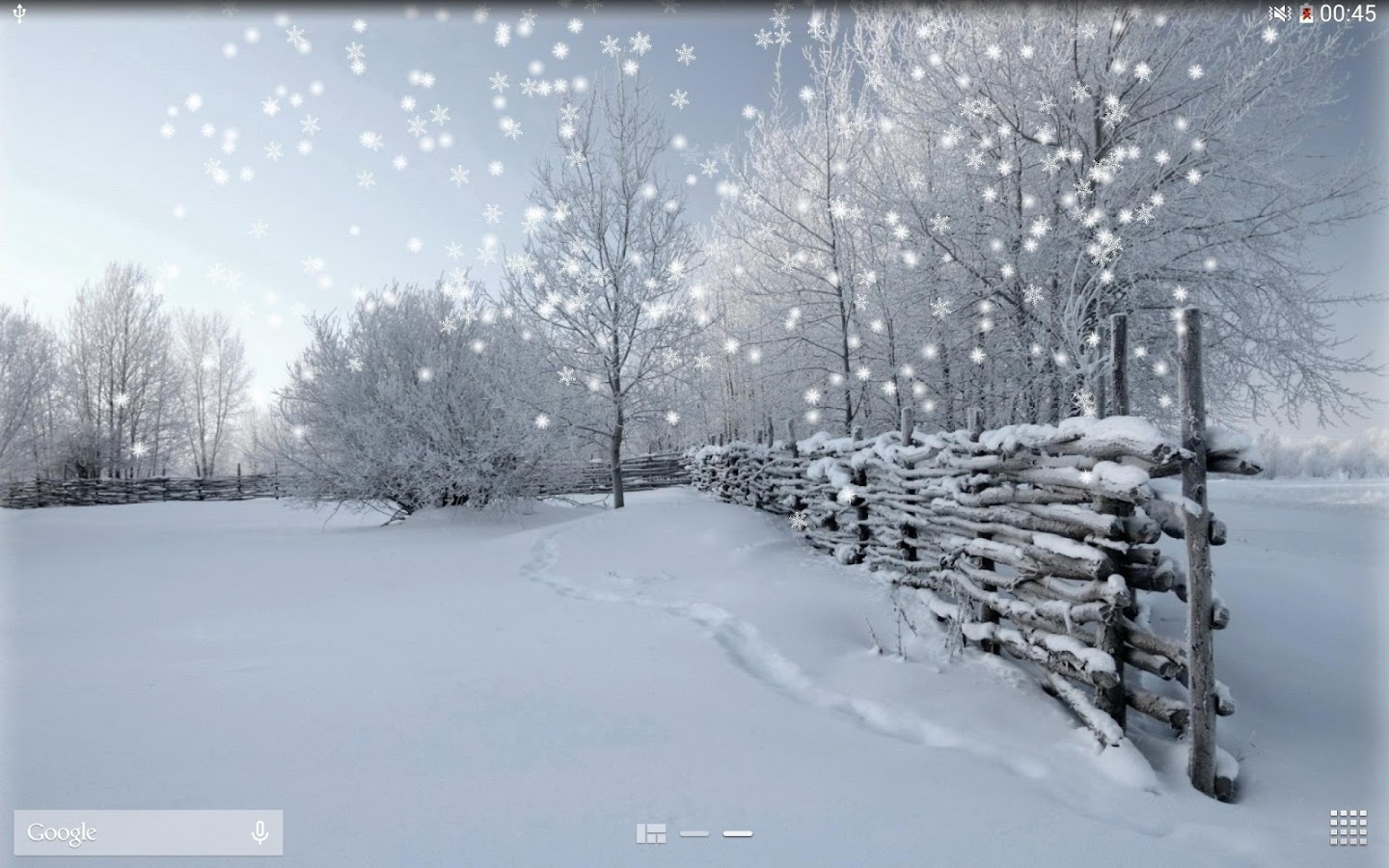 Free Animated Falling Snow Wallpaper Winter Snow Lwp No Ad Android Apps On Google Play