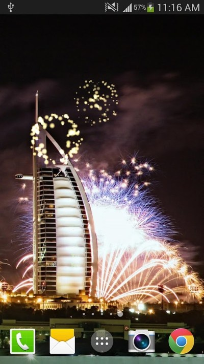 Dubai Fireworks Live Wallpaper - Android Apps on Google Play